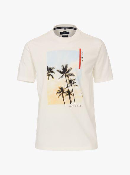 """T-Shirt """"Green""""-Kollektion in Weiß - CASAMODA"""