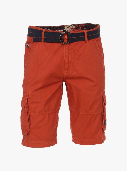 Shorts in Dunkelorange - CASAMODA