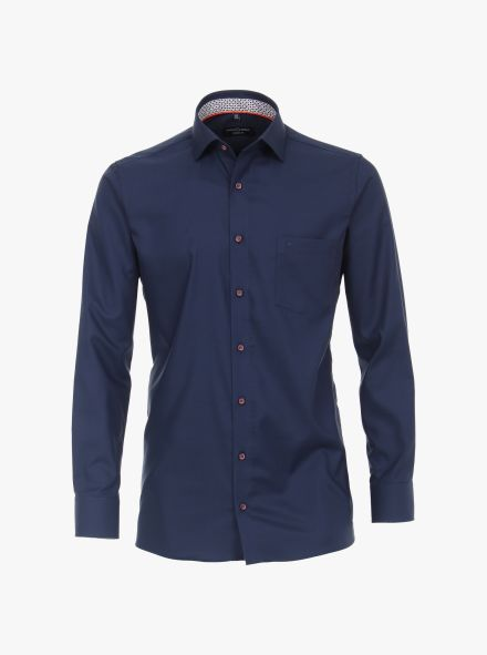 Businesshemd in 103 blau Modern Fit - CASAMODA