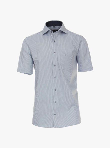 Businesshemd Kurzarm in 101 blau Comfort Fit - CASAMODA
