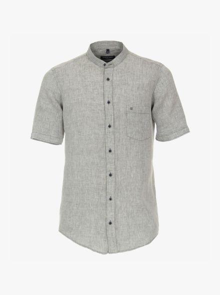Leinenhemd in Olive Casual Fit - CASAMODA