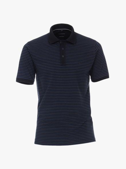 """Polo-Shirt """"Green""""-Kollektion in Dunkelblau - CASAMODA"""