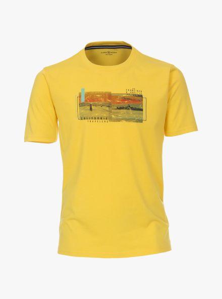 T-Shirt in Hellgelb - CASAMODA