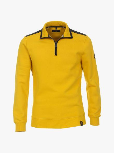 Sweatshirt in Gelb - CASAMODA