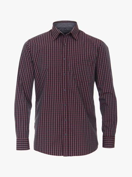 Freizeithemd in 401 rot Comfort Fit - CASAMODA