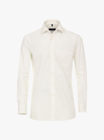 Businesshemd extra langer Arm 69cm in Weißbeige Modern Fit - CASAMODA