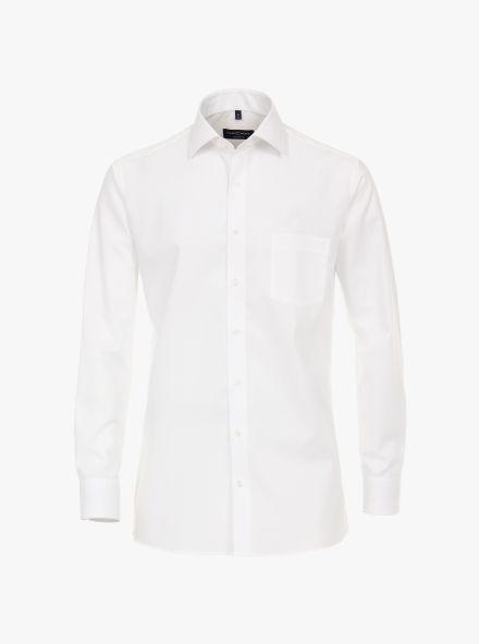 Businesshemd extra langer Arm 69cm in Weiß Modern Fit - CASAMODA