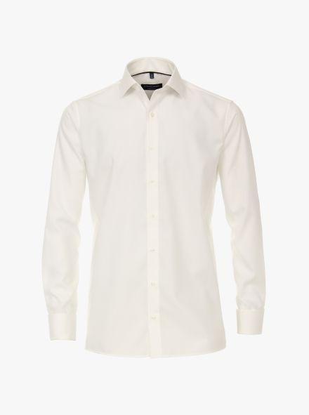 Businesshemd in Weißbeige Comfort Fit - CASAMODA