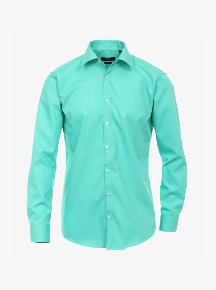 Businesshemd in Aquamarine Modern Fit - VENTI