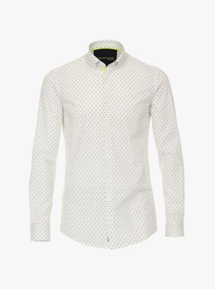 Freizeithemd in Weiß Modern Fit - VENTI