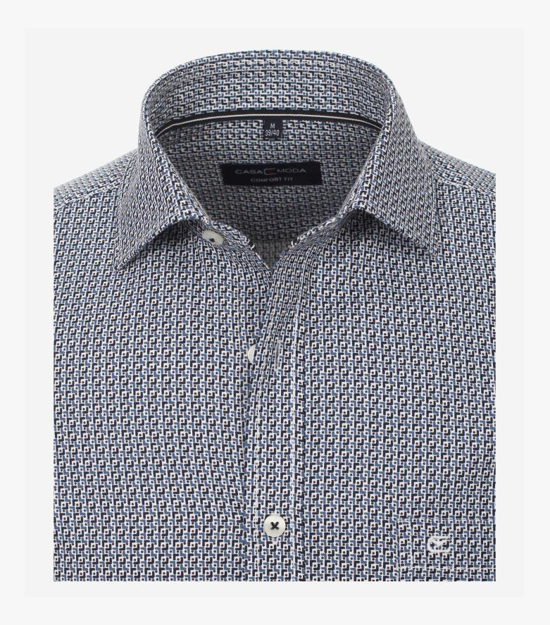 Freizeithemd in Blau Comfort Fit - CASAMODA