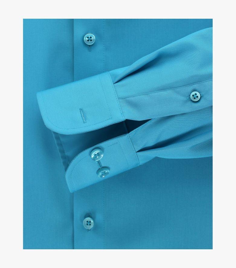 Businesshemd in dunkles Türkis Comfort Fit - CASAMODA