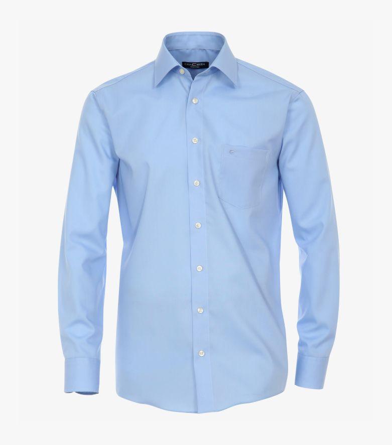 Businesshemd in helles Mittelblau Comfort Fit - CASAMODA