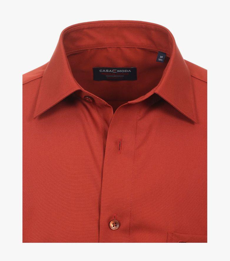 Businesshemd in Orange Comfort Fit - CASAMODA