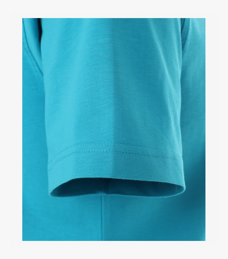 T-Shirt in dunkles Türkis - CASAMODA