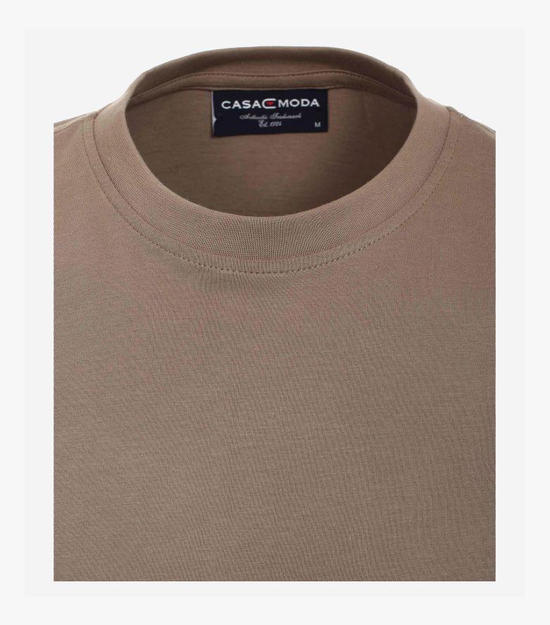 T-Shirt in Champagner Braun - CASAMODA