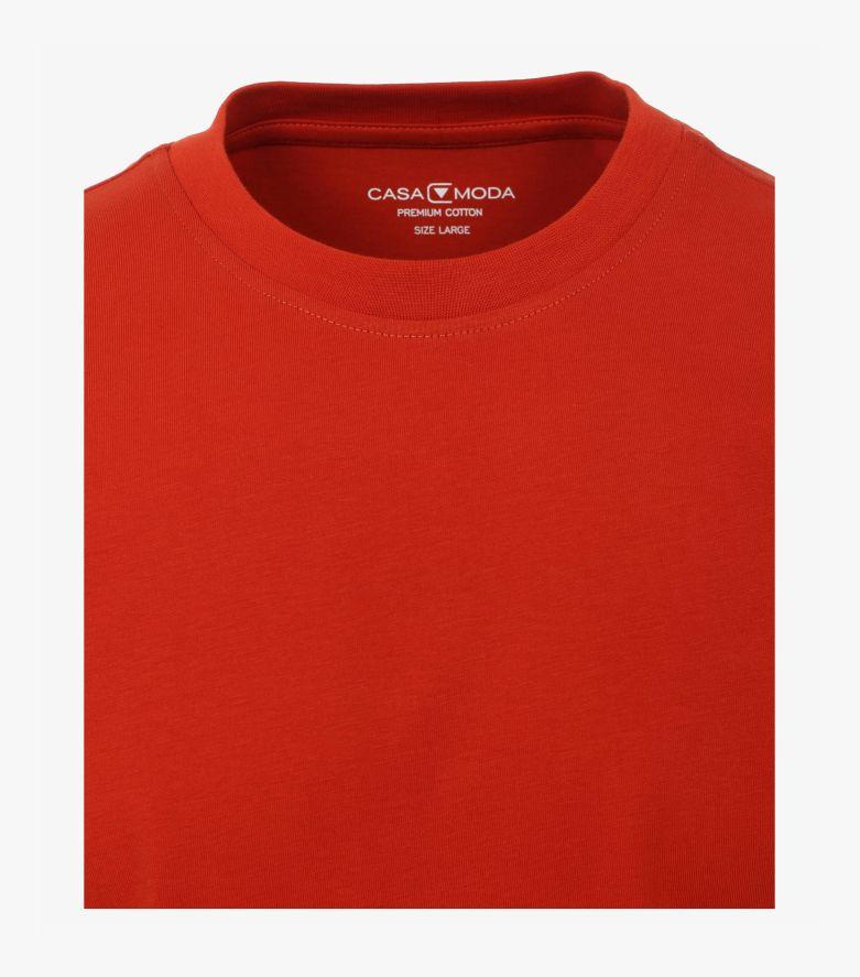 T-Shirt in Dunkelorange - CASAMODA