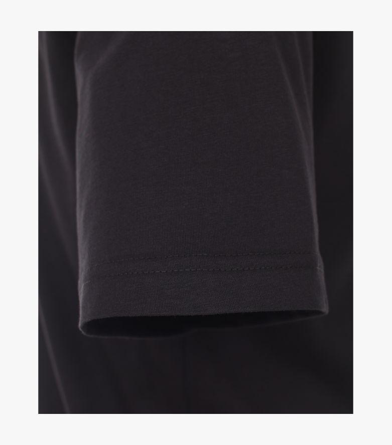 T-Shirt in Tiefschwarz - CASAMODA