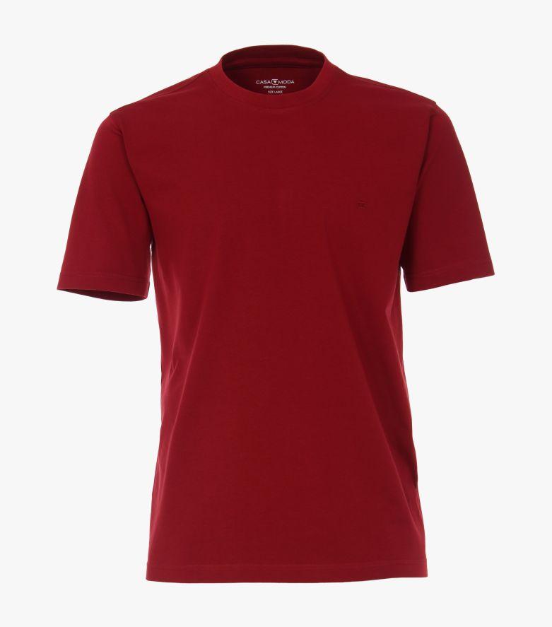 T-Shirt in Dunkelrot - CASAMODA
