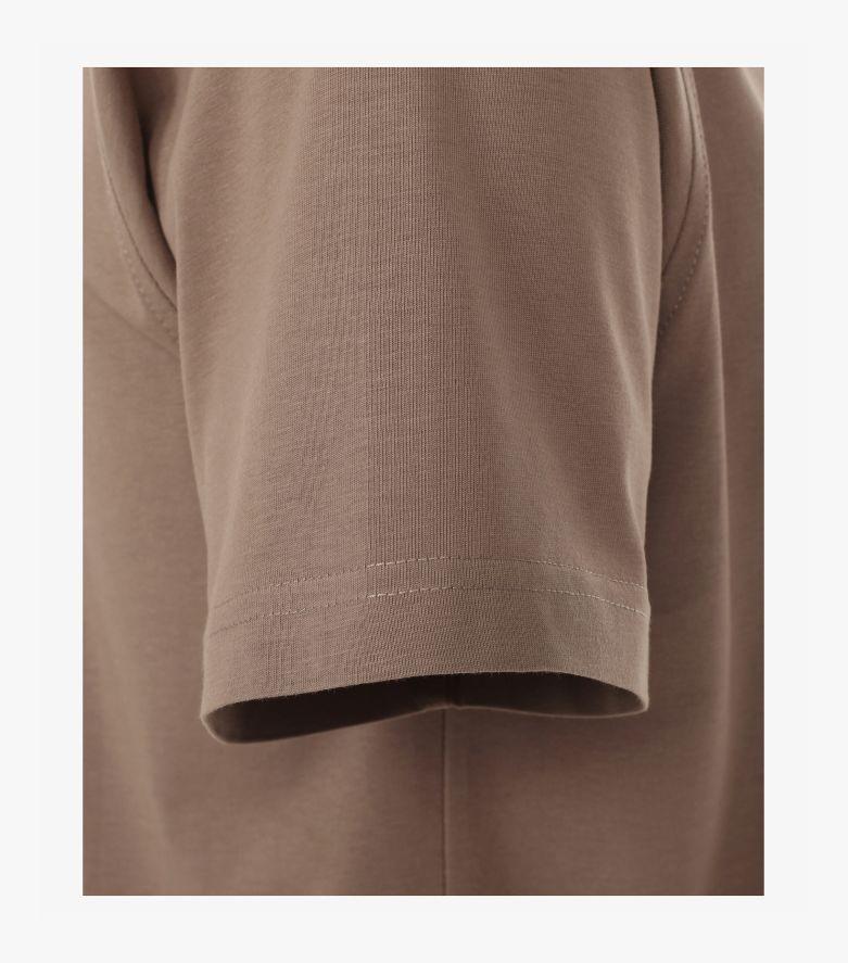 T-Shirt in Hellbraun - CASAMODA