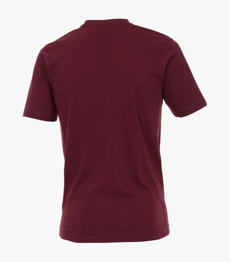 T-Shirt in Bordeauxrot - CASAMODA
