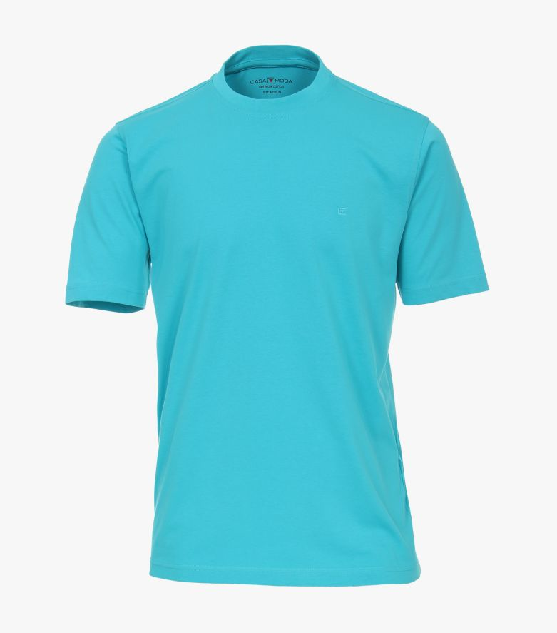 T-Shirt in Aquamarine - CASAMODA
