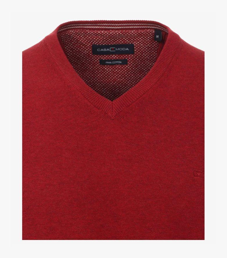 Pullover in Mittelrot - CASAMODA