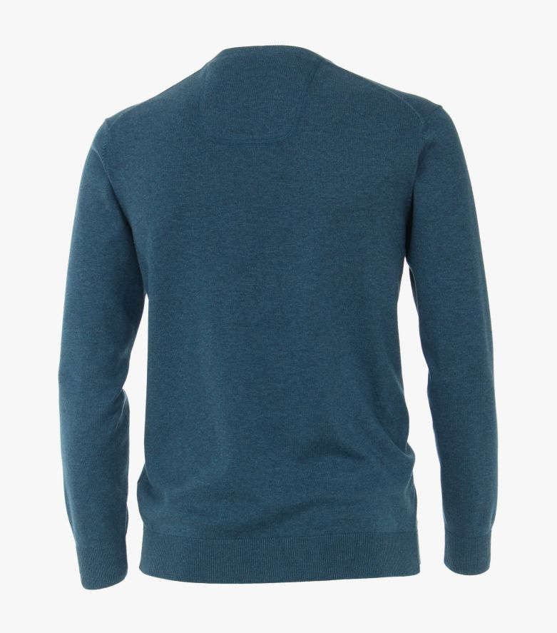 Pullover in dunkles Türkis - CASAMODA