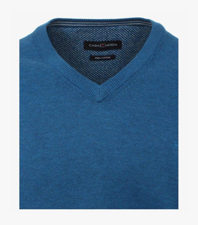 Pullover in Aqua - CASAMODA
