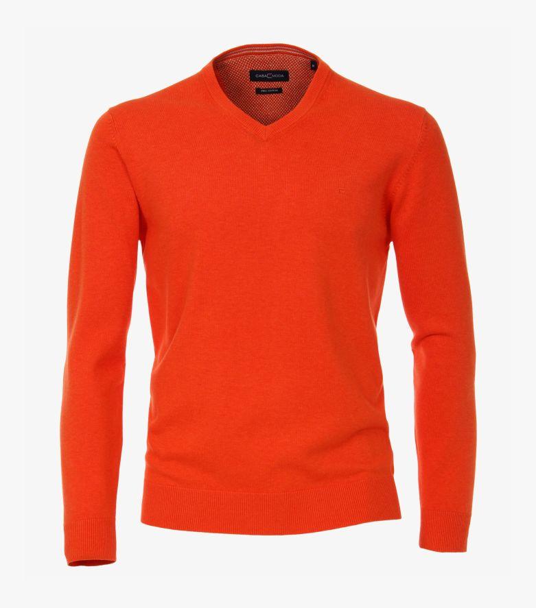 Pullover in Rotorange - CASAMODA
