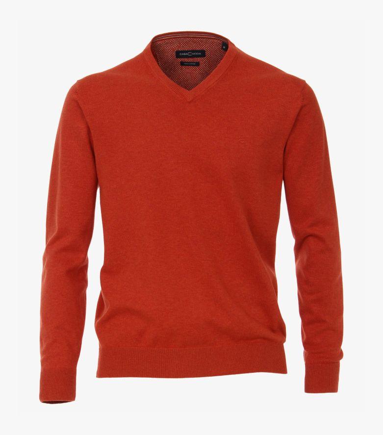 Pullover in Dunkelorange - CASAMODA