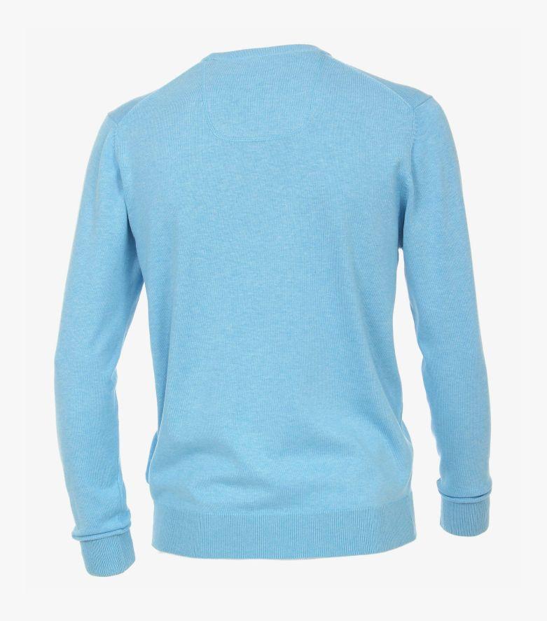 Pullover in helles Mittelblau - CASAMODA