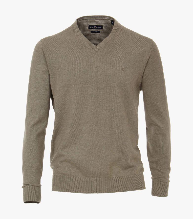 Pullover in Hellbraun - CASAMODA
