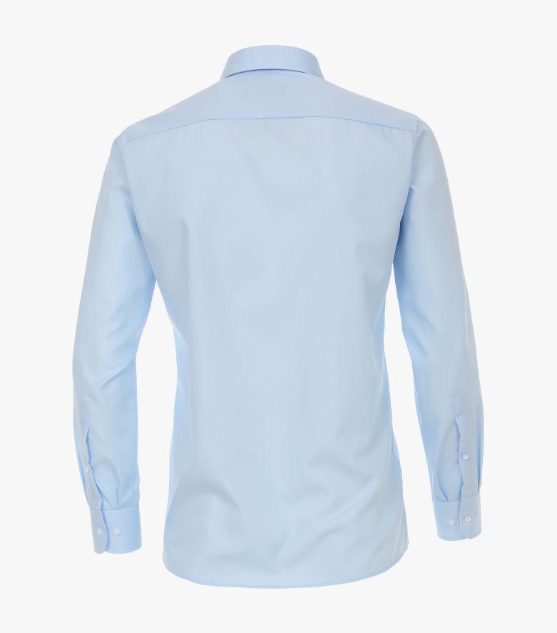 Businesshemd extra lang in Hellblau Modern Fit - CASAMODA