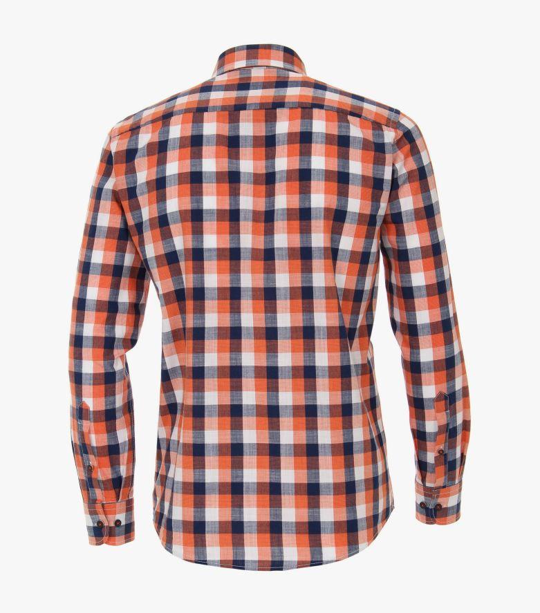 Freizeithemd in Orange Casual Fit - CASAMODA