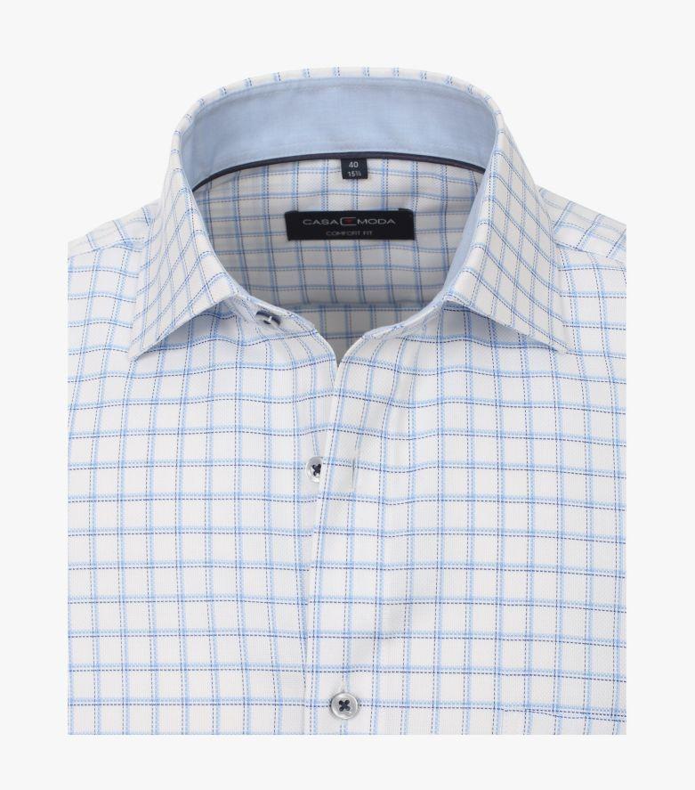 Businesshemd in Weißblau Comfort Fit - CASAMODA