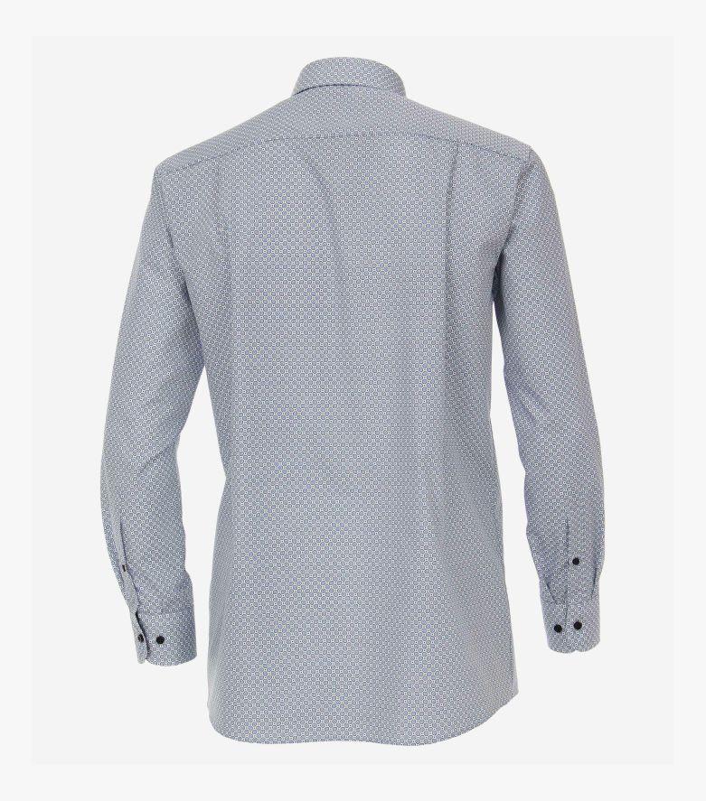 Businesshemd in graues Mittelblau Comfort Fit - CASAMODA