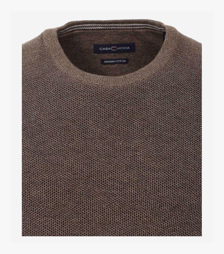 Pullover in Braun - CASAMODA