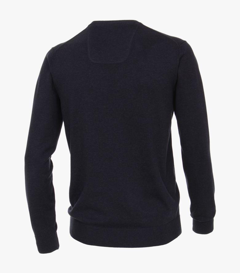 Pullover extra lang 72cm in Dunkelblau - CASAMODA