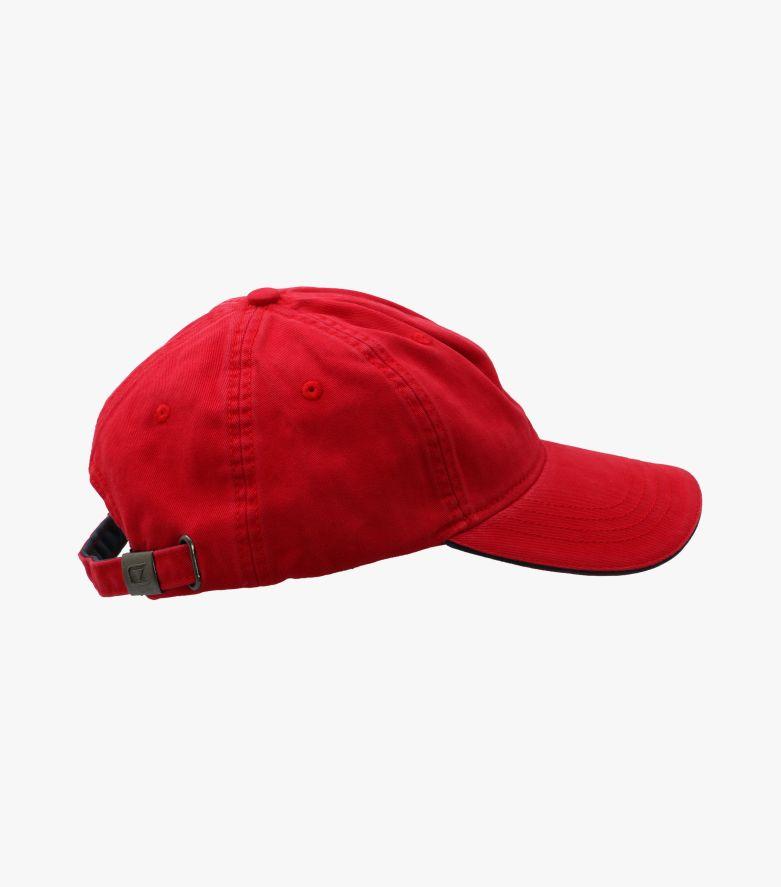 Cap in sattes Rot - CASAMODA