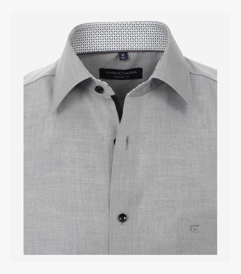 Businesshemd in Grau Comfort Fit - CASAMODA