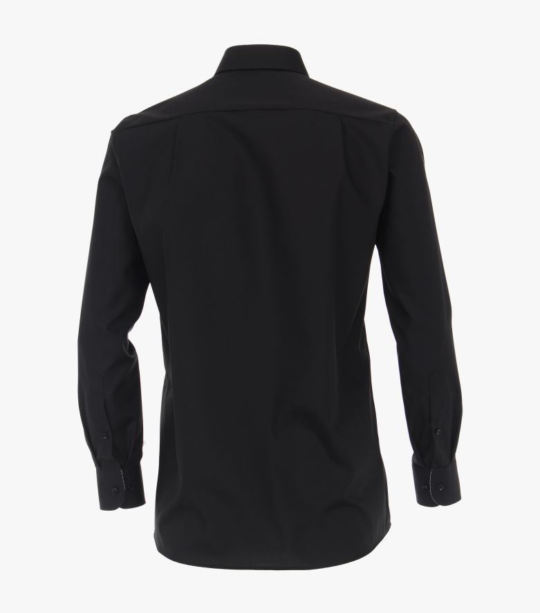 Businesshemd in Schwarz Comfort Fit - CASAMODA