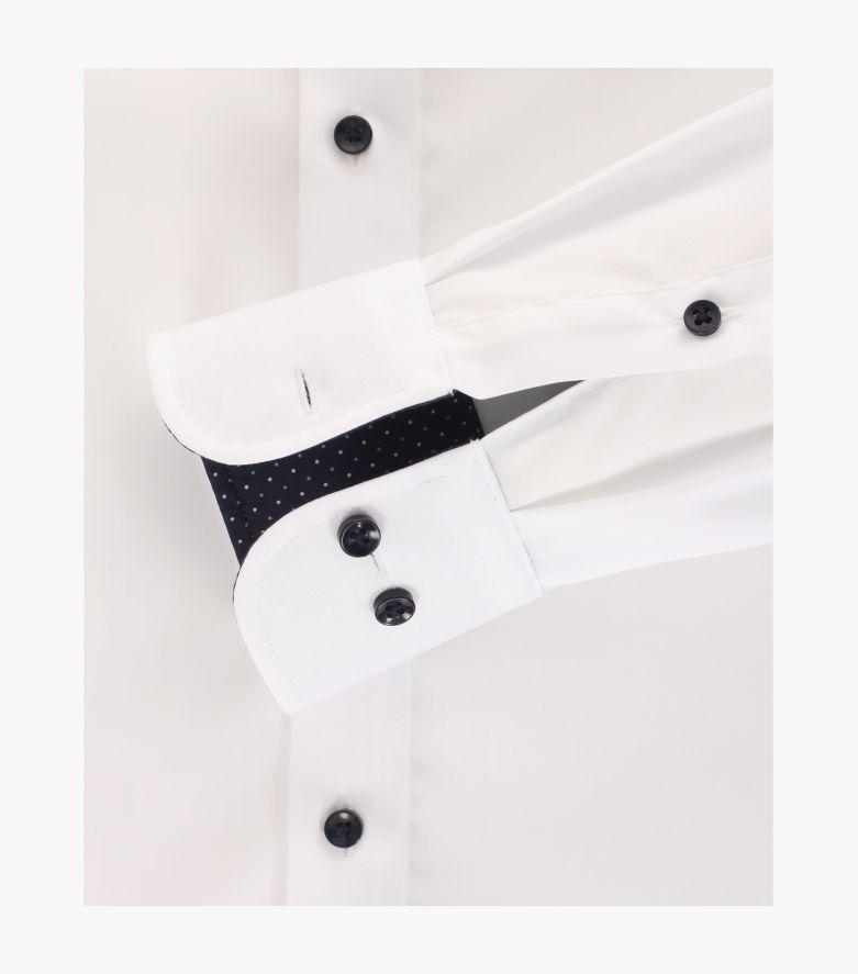 Businesshemd extra langer Arm 72cm in Weiß Comfort Fit - CASAMODA