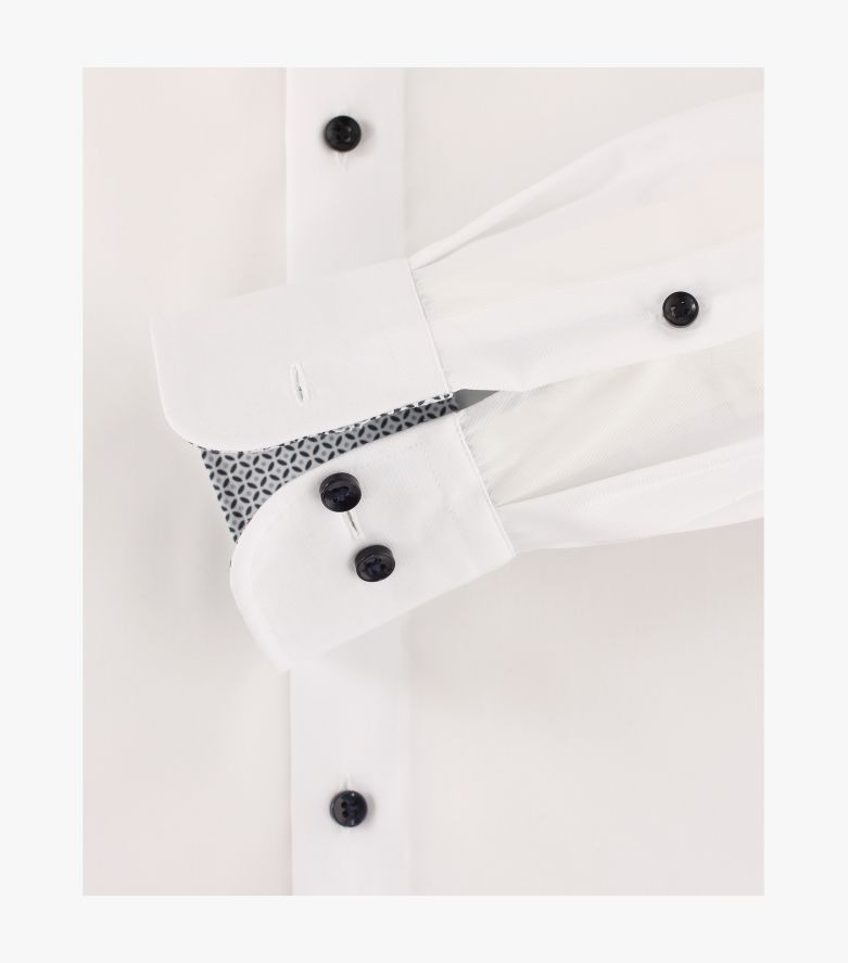 Businesshemd extra langer Arm 72cm in Schneeweiß Comfort Fit - CASAMODA