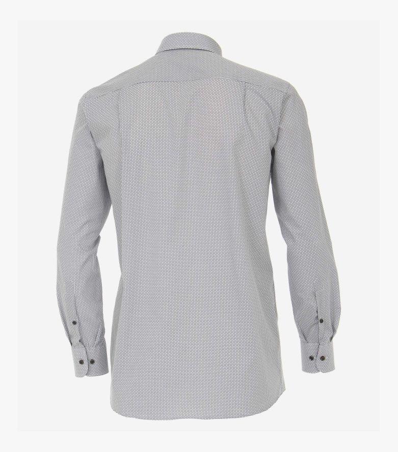 Businesshemd extra langer Arm 72cm in Hellgrau Comfort Fit - CASAMODA