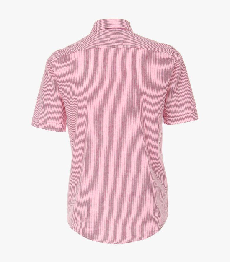 Leinenhemd in Hellrot Casual Fit - CASAMODA
