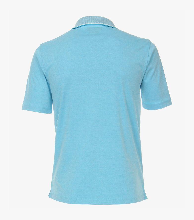 Polo-Shirt in Helltürkis - CASAMODA