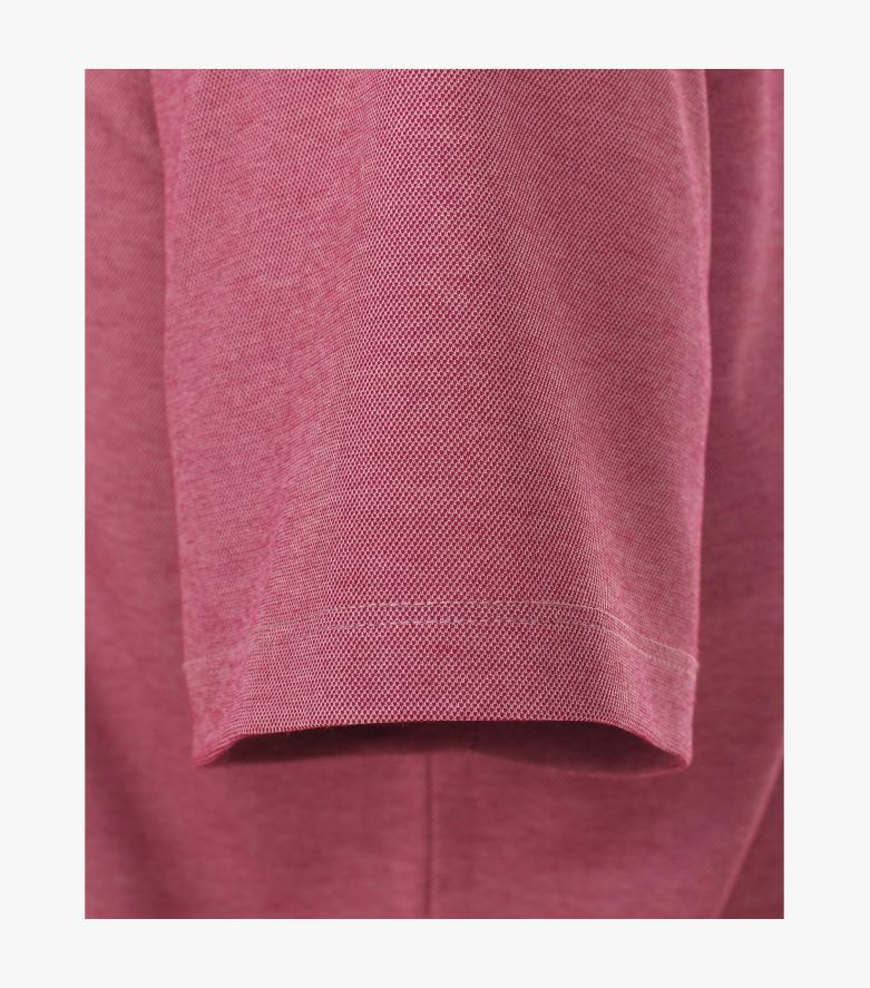 Polo-Shirt in Magenta - CASAMODA