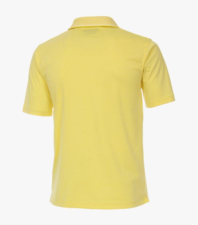 Polo-Shirt in Hellgelb - CASAMODA