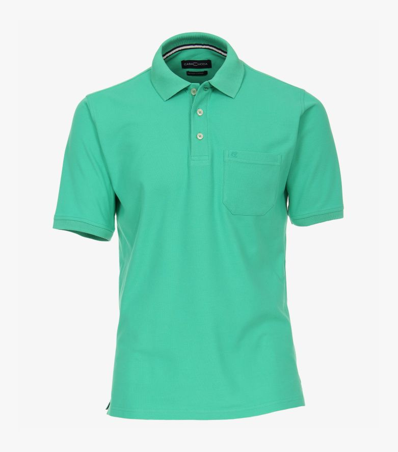 Polo-Shirt in Grün - CASAMODA